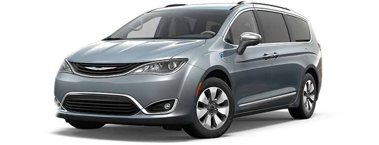 2017 Chrysler Pacifica in Silver Teal