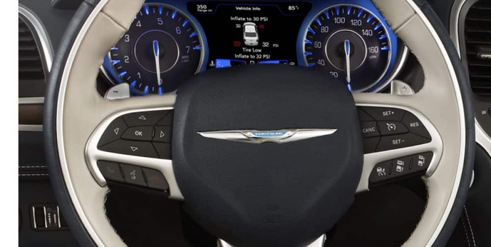 The Standard Leather Wred Steering Wheel Includes Sd Control And Controls For Audio Voice Command Driver Information Digital Cer Display