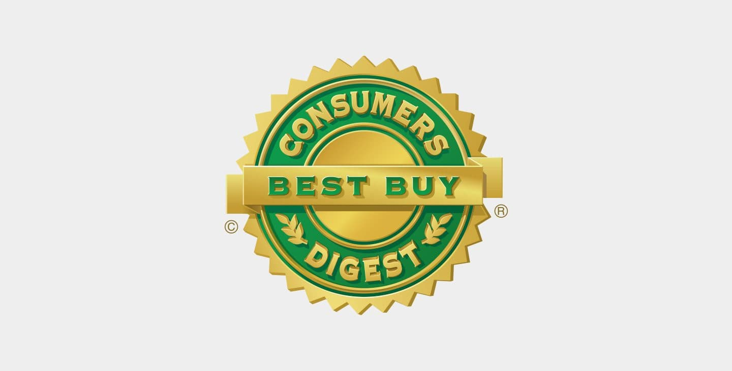 Consumers Digest Best Buy logo.