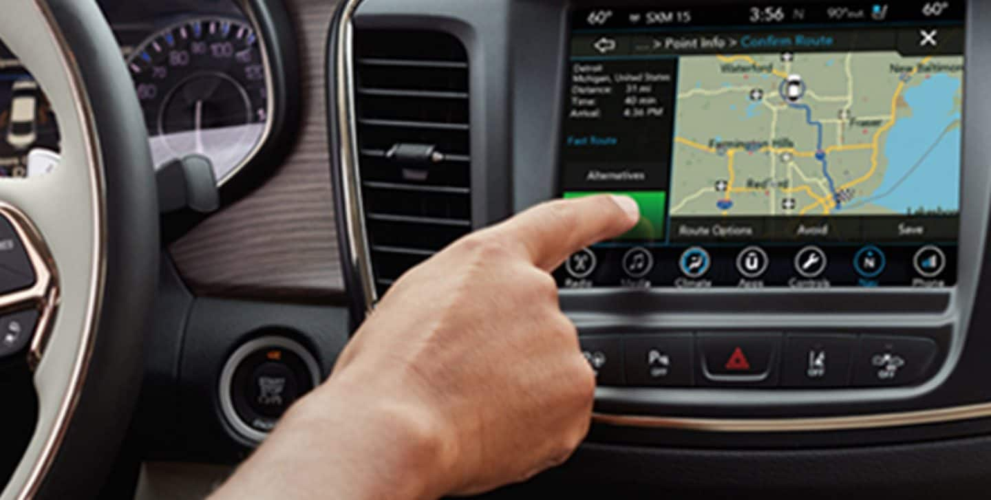 Uconnect Chrysler Uconnect System Navigation Features