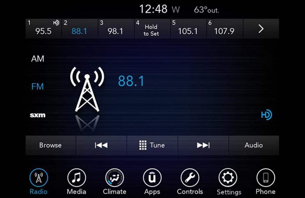 Uconnect Access App >> Uconnect 2018 Chrysler Uconnect 7 0 Uag